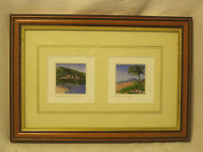 unique miniature prints framed print watercolor painting reproduction Artwork