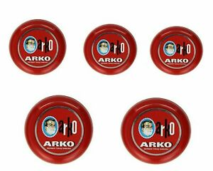 Arko Shaving Soap 75g/90g In Case Bowl | Classic Wet Shaving | Luxurious Lather