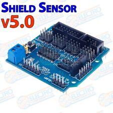 Shield Sensor v5.0 para Arduino modulo expansion v5 Bluetooth Servo UNO MEGA