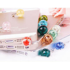 Phones 3.5mm Jack Universal Glow Headset Headphone Anti Dust Plug Cute Gifts EB