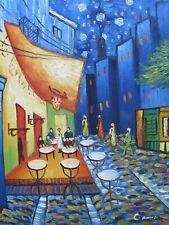Vincent van Gogh Café Terrace at Night large oil painting canvas reproduction