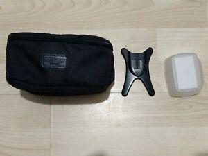 Nikon SS-910 Soft Case for SB-910 Speedlight Flash + Stand + Diffuser