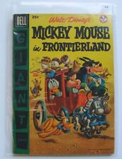 US - Dell Giant Comics - Mickey Mouse in Frontierland Graded 7.0