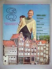 GQ Magazine - October, 1966 -- Holland Issue --  Gentlemen's Quarterly