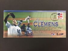 ROGER CLEMENS 300th WIN NEW YORK YANKEES BASEBALL USPS EVENT COVER