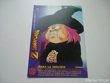 Carte originale Dragon Ball Z Fighting Cards N°13 / Panini 1999 BIRD STUDIO