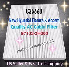 HYUNDAI 07-13 Elantra & 11 Accent C35660 AC CABIN FILTER Free Fast Shipping! @_@