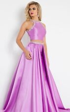 Prima Donna 5920 Lilac Stunning Pageant Two Piece Ball Gown Dress sz 4