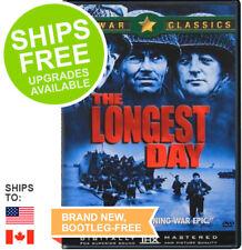 The Longest Day (DVD, 2001) NEW,  John Wayne, Robert Ryan, Richard Burton