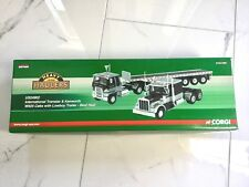 CORGI 1/50 INTERNATIONAL TRANSTAR & KENWORTH W925 CABS W/ LOWBOY US4902 NIB