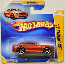 HOT WHEELS  2009 HW PREMIERE '10 CAMARO SS #26/42 RED SHORT CARD