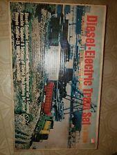 Vintage Marx diesel-electric train set. Complete & boxs rare train set authentic