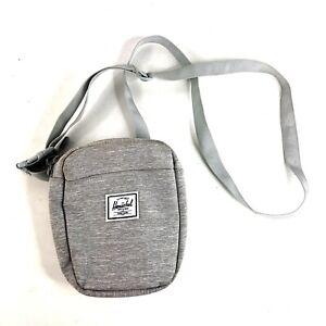 Herschel Supply Company - Gray Cruz Crossbody Travel Day Bag Shoulder Pack