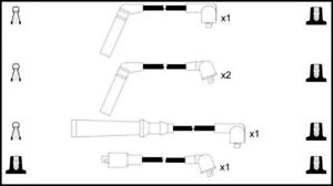 Ignition Leads TOYOTA STARLET: InterMotor; 73202