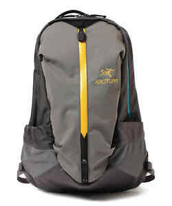 ARC'TERYX x BEAMS BOY / Bespoke ARRO16 Backpack GREY/YELLOW unisex