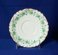 Royal Crown Derby England Medway A814 White Cream Soup Saucer bfe2463