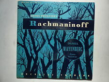 Trois préludes RACHMANINOFF DANIEL WAYENBERG Piano Steinway 470 C 055