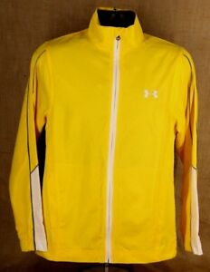 Under Armour Women Jacket SIZE S Lightweight Polyester Bright Yellow