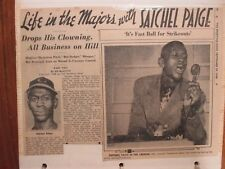 355-Page  2 Albums/Sporting News  Articles(1943-1972)(w/BABE  RUTH/SATCHEL PAIGE