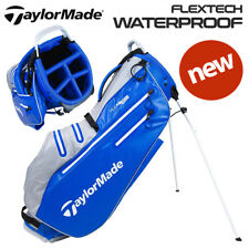 TaylorMade FlexTech Waterproof Golf Stand Bag Royal/Silver - NEW! 2021