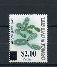 Trinidad & Tobago 2015 MNH Loc Herbal Medicine Ratchet OVPT 1v Set Cactus Stamps