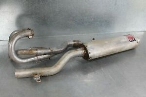 Nice 2001 Husaberg 501FE Exhaust Assembly Used