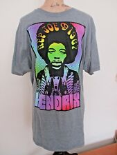 Jimi Hendrix Purple Haze Properties Nwt Ss Throwback Tee Size L Free Shipping