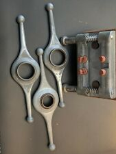 Vintage Rolex Case Opener Tools case holder, and three propeller openers