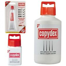 Copydex Glue Adhesive Solvent Free Rubber Bond Crafts DIY Hobbies Repairs New