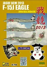 DXM decal 1/72 JASDF F-15J Eagle Air Combat Meet 2013