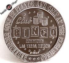 $1 PROOF-LIKE SLOT TOKEN CLUB BINGO CASINO 1966 FM MINT LAS VEGAS NEVADA COIN
