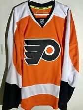 Reebok Authentic NHL Jersey Philadelphia Flyers Team Orange sz 50