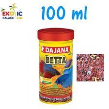 DAJANA BETTA FLAKES 100ml MANGIME CIBO IN FIOCCHI PER PESCI ACQUA DOLCE NO SERA