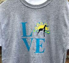 Men's Greyhound T Shirt Size Medium (Greyhound Adoption)