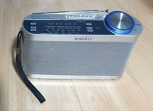 Roberts Portable Radio LW MW FM Compact Radio Battery or Mains 3 Waveand Radio