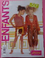 § catalogue vintage laine tricot PHILDAR n° 445 printemps été 2006