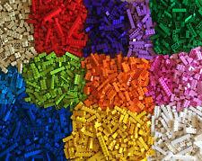 LEGO Girl Colors Brick Lot 100 Various Bricks 1x1 1x2 1x4 1x6 1x8 2x2 2x4 + more