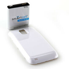 Smart Cell 3800mAh extended battery for White Galaxy S 2 Hercules T989 T-Mobile