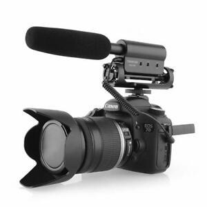 Takstar SGC-598 Shotgun Video Microphone Camera Interview Recording Mic for DSLR