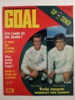 Goal Magazine #240 : April 1973 : Vintage Football Magazine