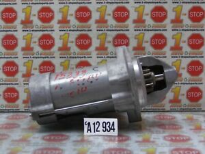 14 2014 CHEVROLET MALIBU 2.5L ENGINE STARTER MOTOR 12658432 OEM