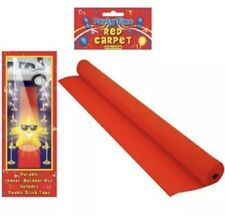 15ft VIP Red Carpet Floor Runner Hollywood Prom Birthday Partys fancy dress UK