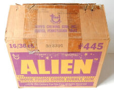 1979 Topps Alien Trading Card Empty Wax Box Case #445 Ridley Scott HR Giger