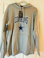 NFL Dallas Cowboys NIKE Hoodie Therma-Fit Gray Training Men's XL NWT $75 Value