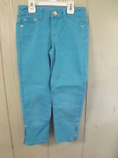 Girls Justice EUC 8R Premium Jeans With Zippered Ankles
