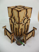 TTCombat Sci Fi Scenics - Cyber Tower - Great for 40k