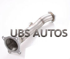 Stainless Steel Exhaust Downpipe cat pass Pipe Fits Audi A4 2.0L B7 TFSI Quattro