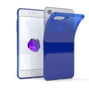 Ultra Slim Cover Per Apple IPHONE 8/7 / Se (2020) TPU Custodia IN Silicone Blu