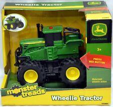 JOHN DEERE Monster Treads Wheelie Tractor Toy NIB
