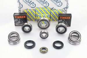 Fiat 500 5 Speed Gearbox Uprated Bearing & Oil Seal Repair Kit